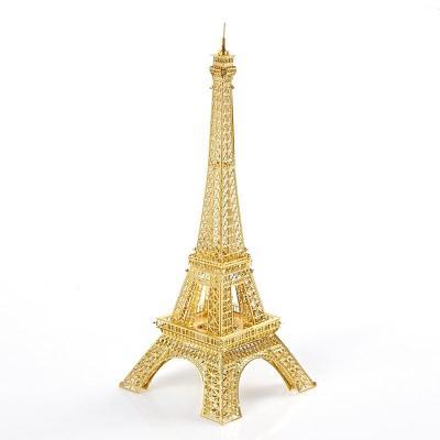 埃菲尔铁塔金属模型图