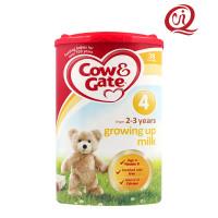 英國牛欄(cow&gate)嬰幼兒奶粉4階段原裝進口/800g/罐
