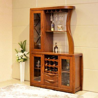 日默瓦家具 现代中式 实木间厅柜 酒柜 玄关柜 门厅隔断柜 实木家具无