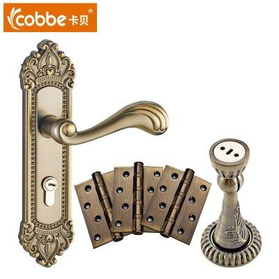 卡贝欧式门锁室内卧室房门锁卫生间执手木门锁