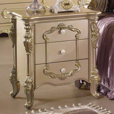 欧式床头柜卧室家具宜家床头柜实木