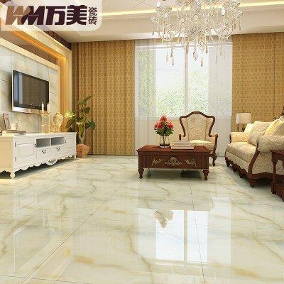 欧式客厅卧室地砖微晶石地板砖800x800