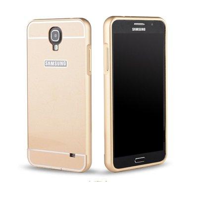 q保护套保护壳sm-g7508q金属边框手机后壳保护框金色