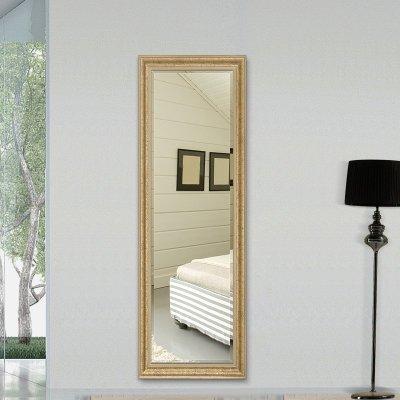 法兰棋穿衣镜子方形试衣镜 壁挂全身镜服装店挂墙镜玄关镜卧室镜 挂墙