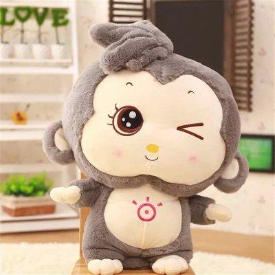 菲菲熊 顽皮阳光开心猴公仔玩偶 毛绒玩具猴子 可爱洋娃娃 女孩玩具