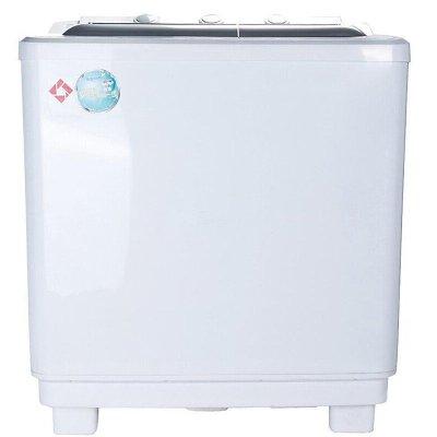 5公斤强力洗涤双桶波轮洗衣机(白色)