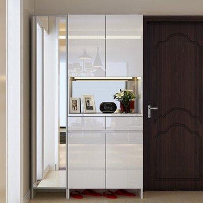 客厅储物玄关隔断柜