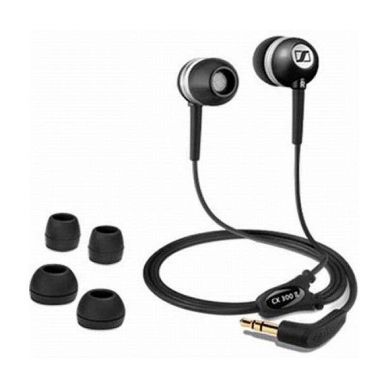 森海塞尔耳机cx 300-ii precision black ec