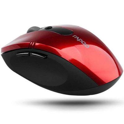 雷柏中级无线蓝光鼠标7100(魅力红)  39元包邮的图片