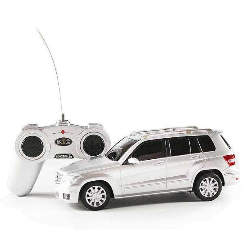 星辉遥控车模1 24奔驰glk 银 高清图片