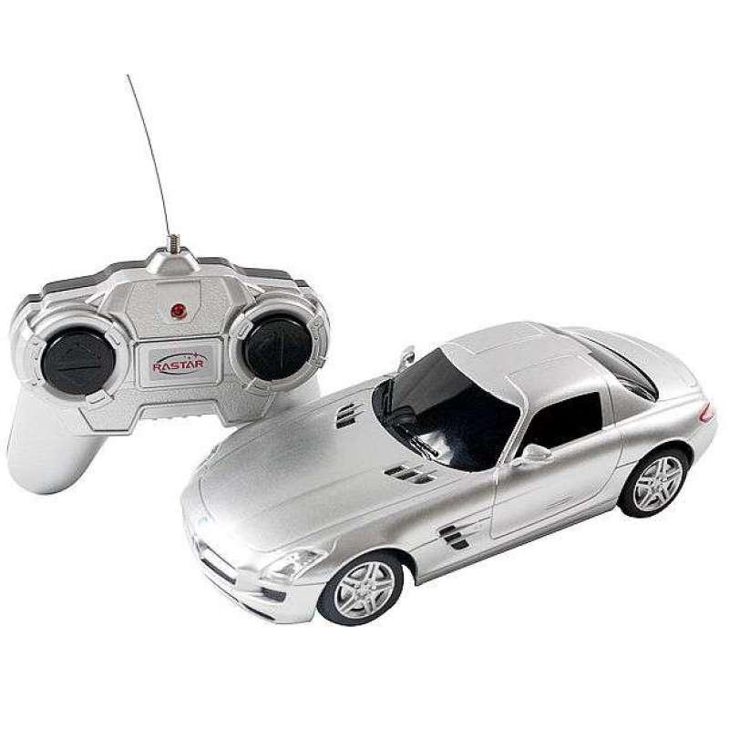 星辉遥控车模1 24奔驰sls 银高清图片