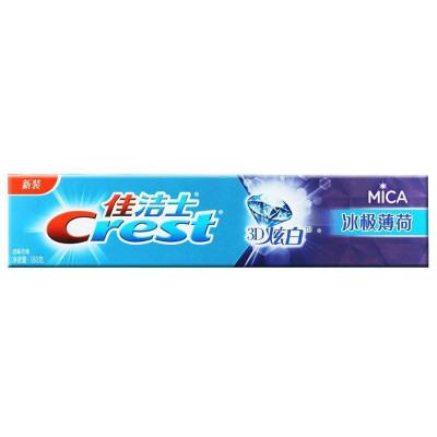 佳洁士 牙膏 山泉 苏宁/佳洁士炫白+冰极山泉牙膏180克...
