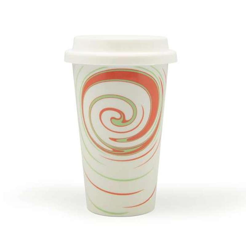 伴家乐外卖咖啡杯螺纹