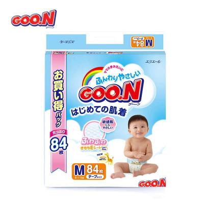 大王GOO.N维E呵护婴幼儿用纸尿裤M/84枚 ¥228*0.6=¥136.8