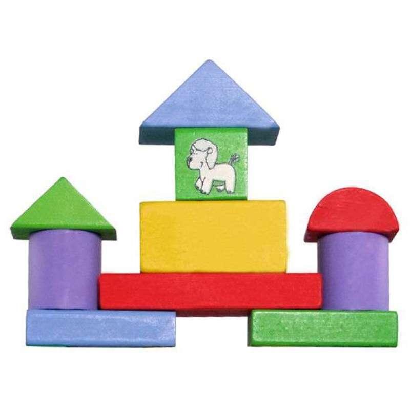 可爱的小动物,小朋友可以在玩积木的过程中认识动物!