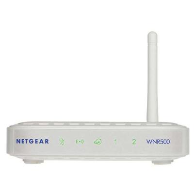 网件(NETGEAR)WNR500 150M迷你无线路由器  ¥39