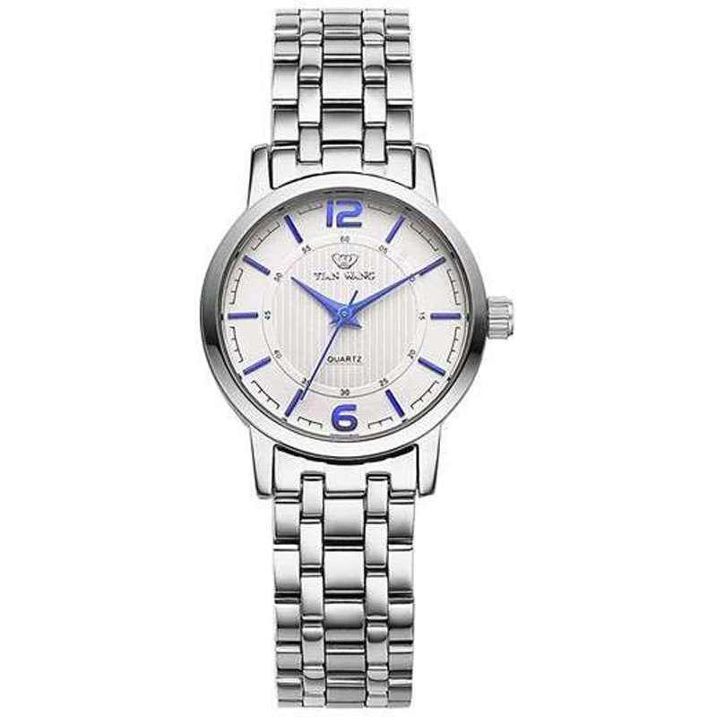 天王表 LS3654S  女款全钢腕表