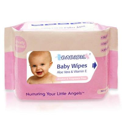 BABISIL 贝儿欣 BS4349 婴儿湿纸巾30片装