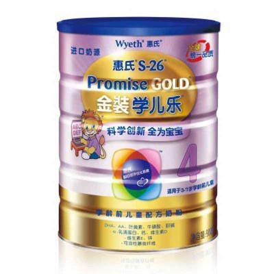 华北/华南/西南:惠氏Wyeth 金装学儿乐4段学龄前儿童配方奶粉 900克¥82.5