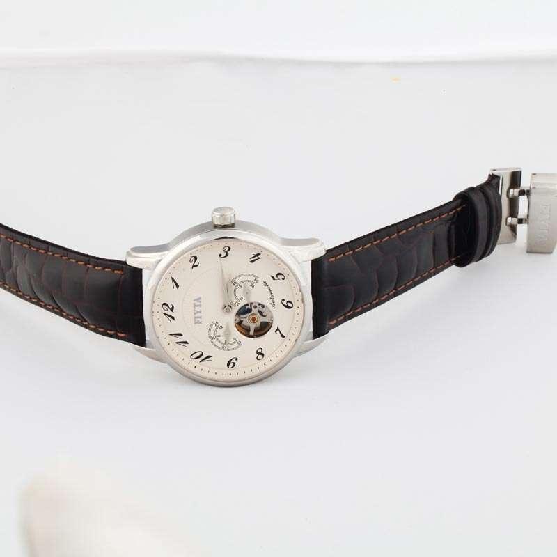 飞亚达摄影师系列男士白色机械手表ga8278