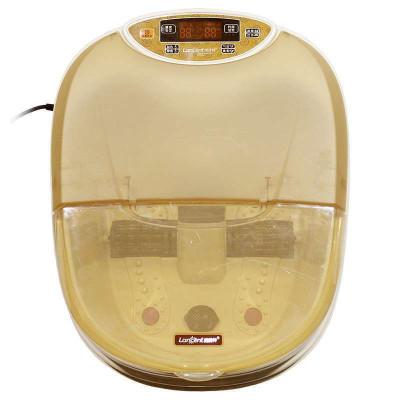 朗欣特 足浴盆ZY-879 足浴器 深桶洗脚盆 电动滚轮按摩 语音
