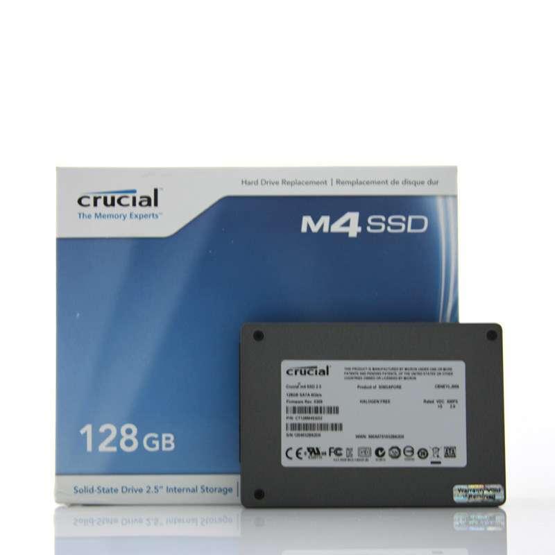Micron 镁光 Crucial M4 SSD 固态硬盘 128GB