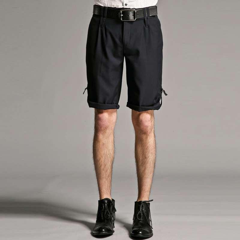 休闲男士时尚斯文个性西短裤#12622136