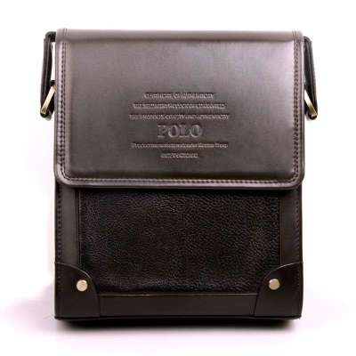 艺奢华男士短款钱包 两折钱夹 男士钱包 棕色 310003-