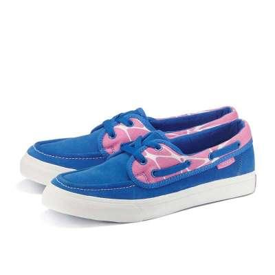船鞋(女款) 粉蓝色