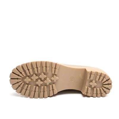 tata 他她牛皮036-50女单鞋2012春季卡其色舒适简约