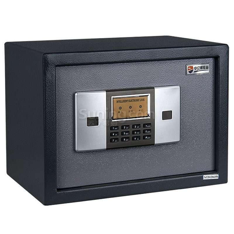 中亿 经济型电子密码保管箱 BGX-M/D-27(深灰)