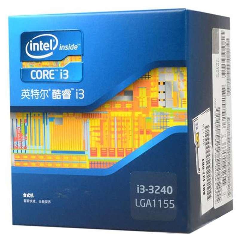 英特尔i3cpu报价_intel处理器i3 3240【报价,价格,评测,参数】_cpu
