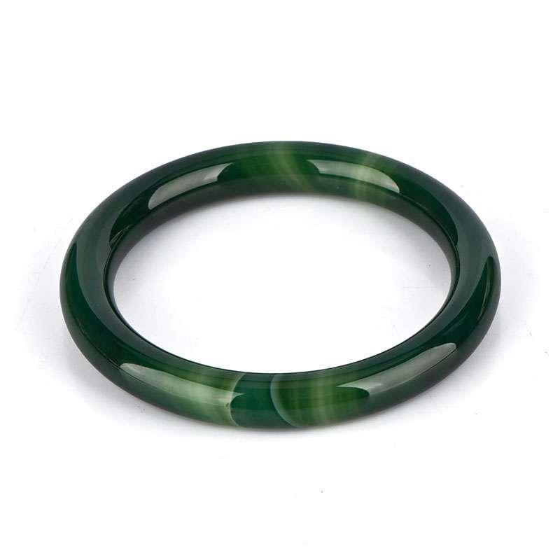 绿玛瑙手镯图片大全_【 商品简介:】天然绿玛瑙手镯 Ditan