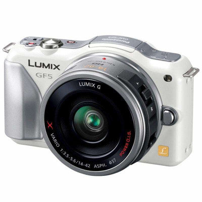 Panasonic 松下 DMC-GF5XGK 微型单电相机(14-42mm电动变焦头) 2198元(下单减200 即1998元)
