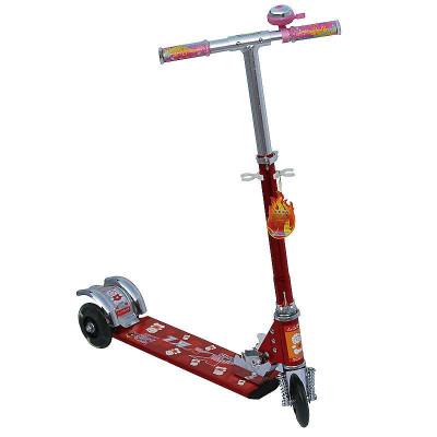 新低价 小小恐龙 XKL-8813 三轮全铝滑板车 红色 59元包邮