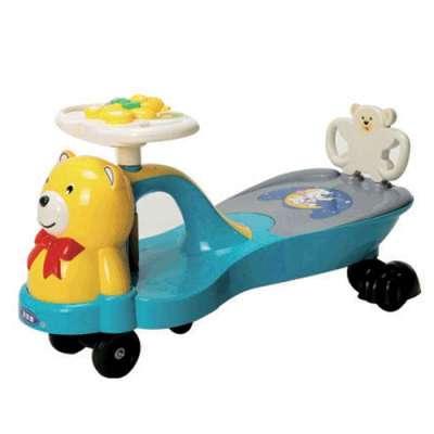 婴爱喜 扭扭车 QYN901 新款 蓝色