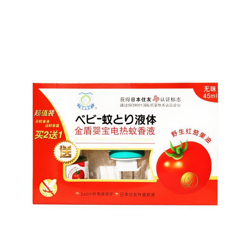 国内优惠:金盾婴宝婴儿蚊香液超值装¥36,叠加66-16