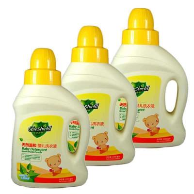 金盾 康馨天然温和婴儿洗衣液 1000ML*3瓶 49元(购买2件减30 低至11.3元/瓶 限地区)