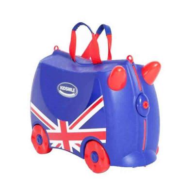 kidsmile 凯德氏 和平系列 英国 儿童行李箱 (送原厂贴纸画)109元的图片