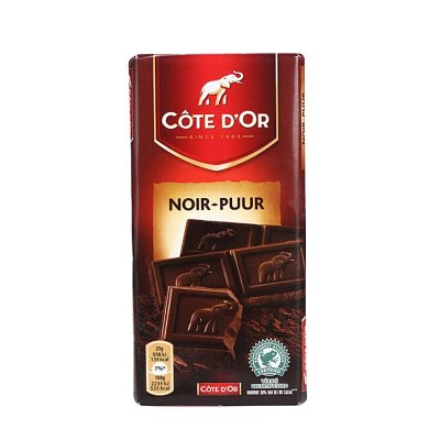 Cote D'or 克特多金象 精制纯味巧克力 11.9元