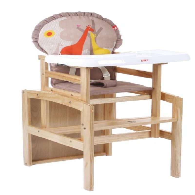 老式婴儿木质椅子图片