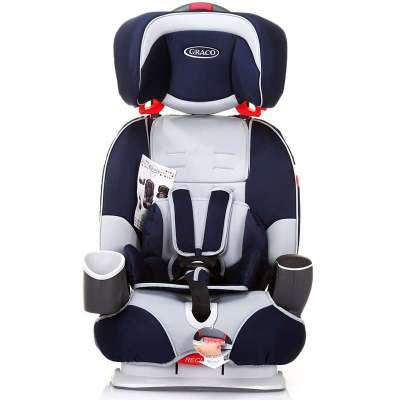 graco葛莱汽车儿童安全座椅8j96spne(蓝色)