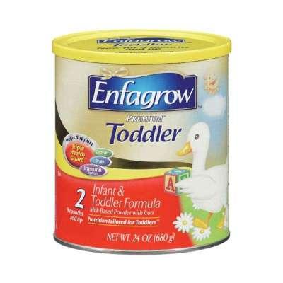金樽系列也是网络星期一的节奏!美赞臣 Enfagrow PREMIUM Toddler 金樽2段 595g*4    $54.34(64.34-10)