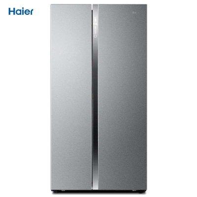 海尔(Haier) BCD-649WDCE 649升 对开门冰箱(不锈钢色)