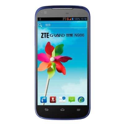 ZTE 中兴 N986 智能手机(5寸IPS、720P、四核、CDMA+GSM双待双通)