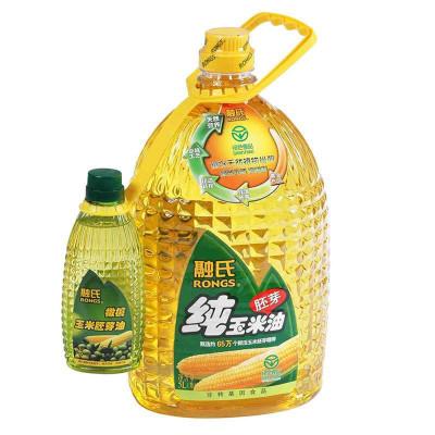 融氏 纯玉米胚芽油5L+300ml 79.9元(购买2瓶减30 低至64.9元/瓶)