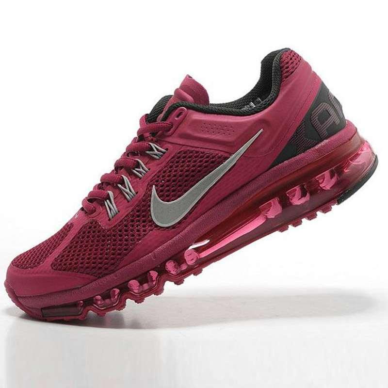 耐克air max+2013全掌气垫女跑步鞋555363-602