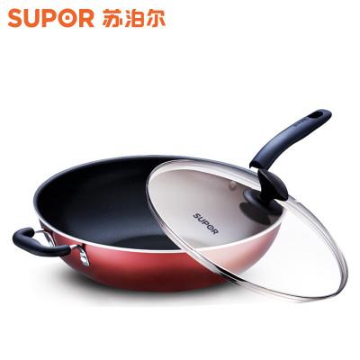 苏泊尔NC30F4 铝合金 炫彩易洁不粘炒锅 ¥199,下单半价