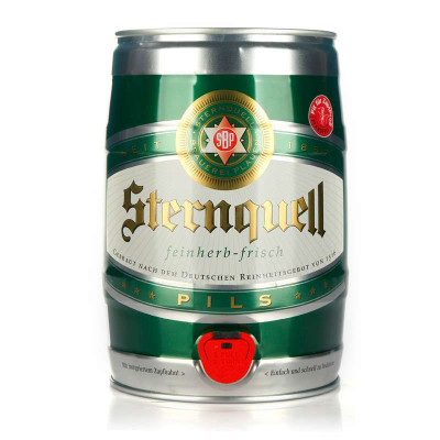 巴伐利亚之星 冰醇黄啤5L桶装¥129 叠加满¥200-100