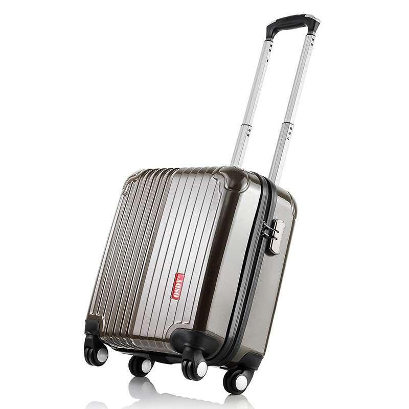登机箱万向轮拉杆箱旅行箱lr-a12拿铁灰17寸